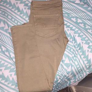 American Eagle Tan Pants (NWOT)